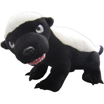 License-2-play Randall's Honey Badger Talking Plush Small PG Rated Version