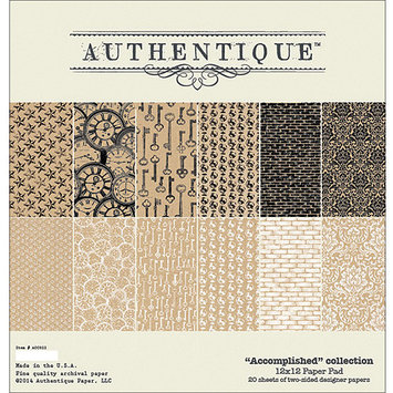 Authentique Paper Pad 12