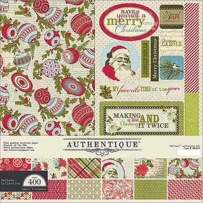Authentique Paper FAI012 Authentique Collection Kit 12X12-Faith