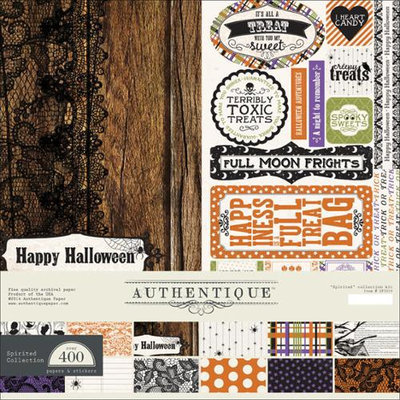 Authentique Paper SPI019 Authentique Collection Kit 12X12-Spirited