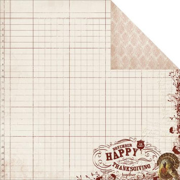 Authentique Paper Grateful Double-Sided Cardstock 12