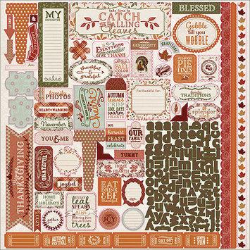 Authentique Paper Grateful Cardstock Stickers 12