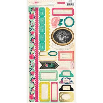 Crate Paper NOTM267751 - Flea Market Cardstock Stickers 6