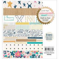 American Crafts Crate Paper Paper Pad 6
