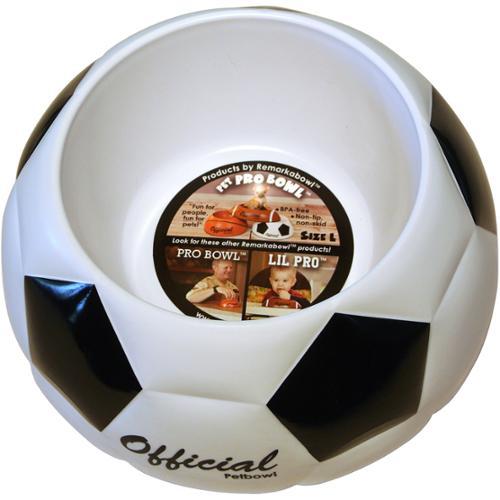 Remarkabowl Pet Pro Bowl - Soccer Medium