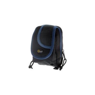 OSN Digital Camera Carrying Case (Black/Blue Trim)