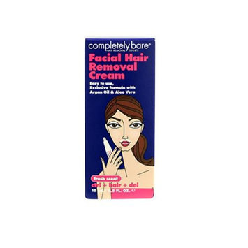 Completely Bare Facial Hair Removal Cream (Cocoa/Cream)