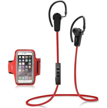 Jarv NMotion BTHL201BDL-RED Bluetooth 4.0 Earbuds with Universal Sports Armband - Red