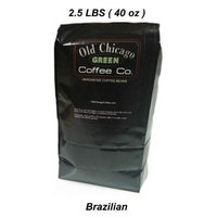 Old Chicago C00323 Brazil Green Coffee Beans Pack Of 2
