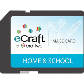 Craftwell eCraft 'Home and School' SD Image Card