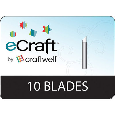 Craftwell eCraft Replacement Blades 10-pack
