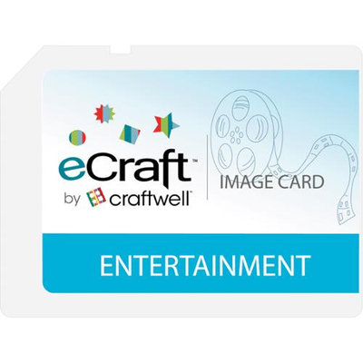Craftwell eCraft SD Image Cards-Entertainment