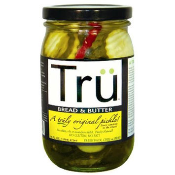 Tru Pickles 16 Oz Bread and Butter Pickles (3018)