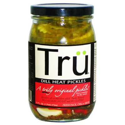 Tru Pickles Tru 16 Oz Spicy Dill Pickles (3070)