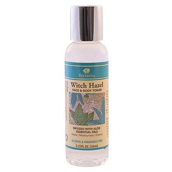 Bretanna - Witch Hazel Face & Body Toner Infused with Aloe Essential Oils - 2.25 oz.