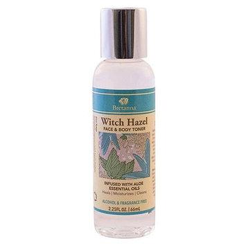 Bretanna - Witch Hazel Face & Body Toner Infused with Aloe Essential Oils - 2.25 oz.