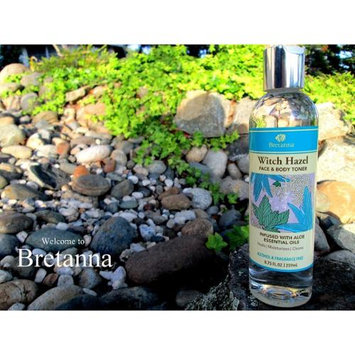 Bretanna - Witch Hazel Face & Body Toner Infused with Lavender Chamomile Aloe Essential Oils - 2.25 oz.