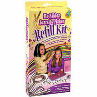 Crorey Creations, Inc. Crorey Creations My Ribbon Barrette Maker Refill Kit