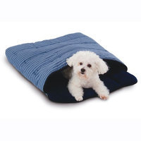 Perrydale Snooze Sack Pet Bed Navy