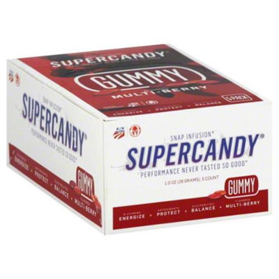 Snap Infusion Snap Infusion Supercandy Gummi Multi Berry 5 Oz Pack Of 5
