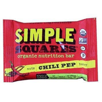 Simple Squares - Organic Gluten-Free Nuts & Honey Nutrition Bar Chili Pep - 1.6 oz.