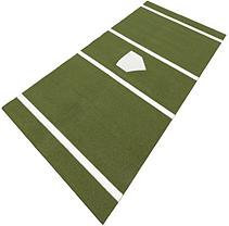 DuraPlay SoftBall 7 ft. x 12 ft. Home Plate Mat in Green SP5M