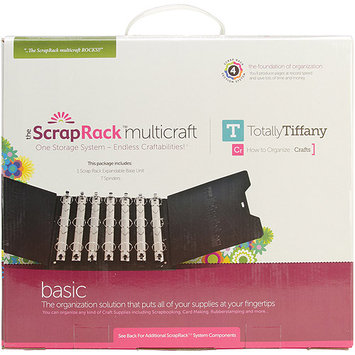 TotallyTiffany ScrapRack Multicraft Base Unit, 15&quot x 13&quot x 7&quot