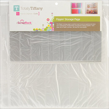 Totally Tiffany Totally-Tiffany ScrapRack Flippin Storage Page Multi-Colored