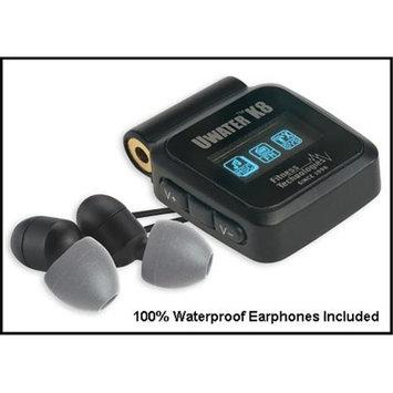Fitness Technologies Mp3 Players Fitness Technologies UWater 90418 Waterproof 8GB MP3 Player & FM Radio