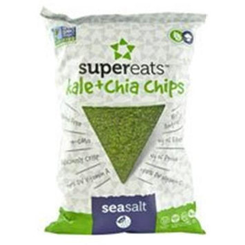 Supereats Kale & Chia Chips Sea Salt 5 oz