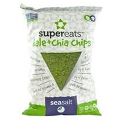Supereats Kale & Chia Chips Sea Salt 5 oz