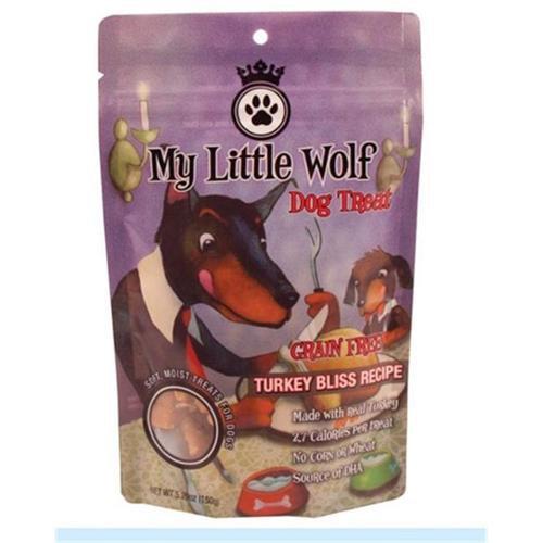 Waggers My Little Wolf Grain Free Dog Treats - Turkey - 16 oz.