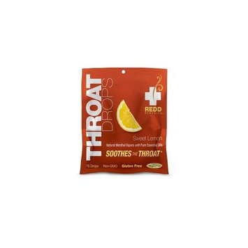 Redd Remedies - Throat Drops Sweet Lemon - 16 Drops