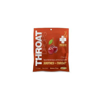 Redd Remedies - Throat Drops Cherry - 16 Drops