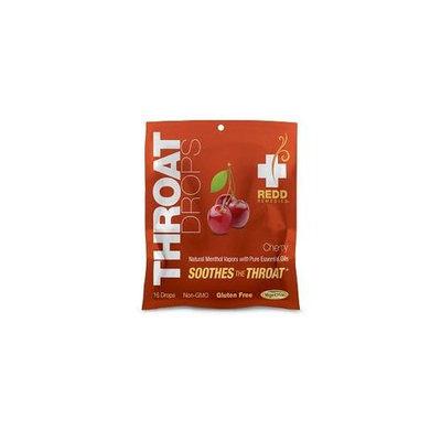 Redd Remedies - Throat Drops Cherry - 16 Drops