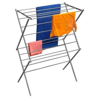 Ybm Home Deluxe Stainless Steel Foldable Drying Rack