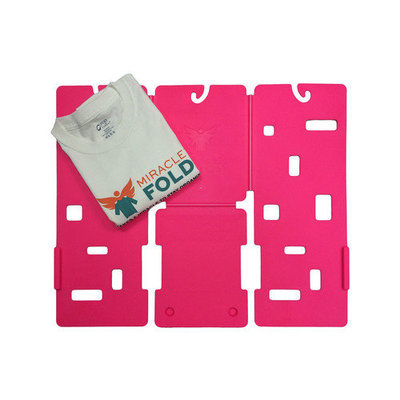 Miracle Fold Junior Laundry Folder Color: Hot Pink