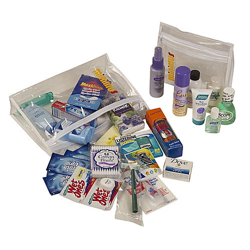 Minimus Female Personal Care Travel Kit - As Shown