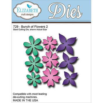 Elizabeth Craft Designs EC729 Elizabeth Craft Metal Die-Bunch Of Flowers 2