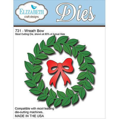 Elizabeth Craft Designs EC731 Elizabeth Craft Metal Die-Wreath Bow