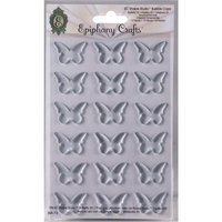 Epiphany Crafts Clear Bubble Caps-Butterfly