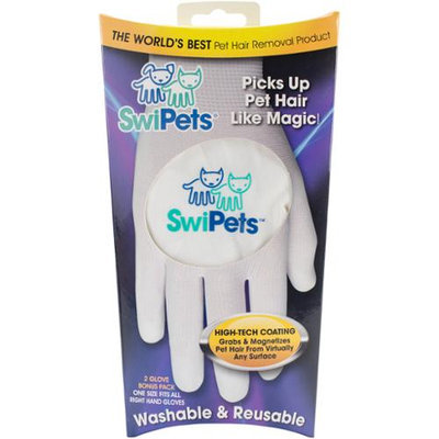 SwiPets Cat Hair Removal Reusable Washable Gloves
