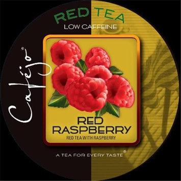 Cafejo K-CJT-RR-1-50 Red Raspberry Tea K-Cups for Keurig Brewers