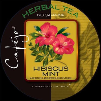 Cafejo K-CJT-HM-1-50 Hibiscus Mint Tea K-Cups for Keurig Brewers