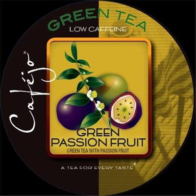 Cafejo K-CJT-GPF-1-50 Green Passion Fruit Tea K-Cups for Keurig Brewers