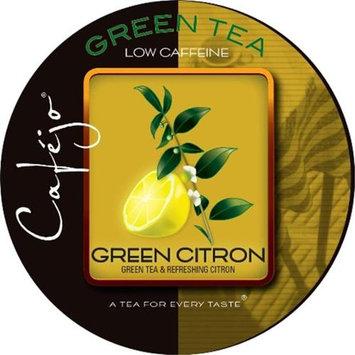 Cafejo K-CJT-GC-1-50 Green Citron Tea K-Cups for Keurig Brewers