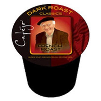 Cafejo Decaf French Roast K-Cups (24 Cups -$0.62 per cup)