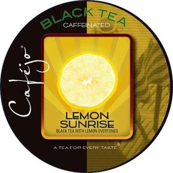 Cafejo Lemon Sunrise Tea K-Cups (24 Cups -$0.62 per cup)
