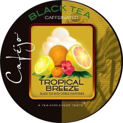 Cafejo Tropical Breeze Tea K-Cups (24 Cups -$0.62 per cup)