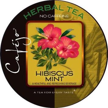 Cafejo Hibiscus Mint Tea K-Cups (24 Cups -$0.62 per cup)